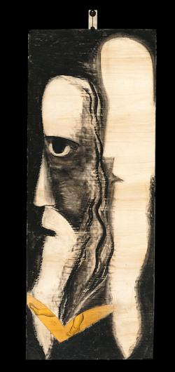 ENZO CUCCHI, Gesù, 1994, 285x110 cm, Collezione Alessandro Grassi