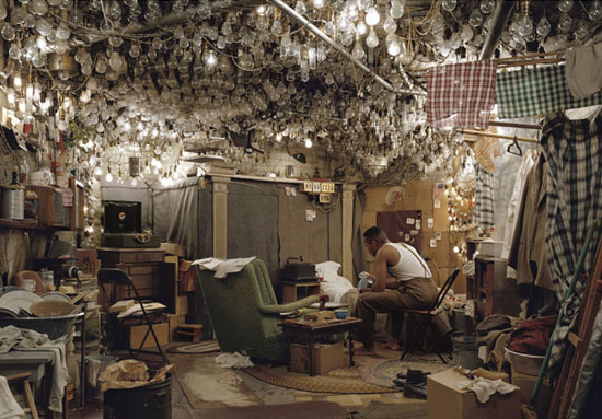 Jeff Wall - after invisible man