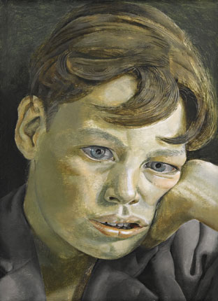Boy's Head, Lucian Freud, 1952