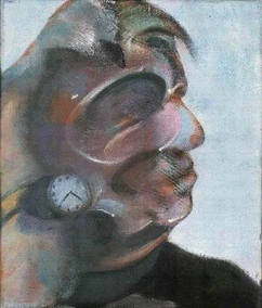 Francis Bacon, Study for a Self-Portrait, 1973