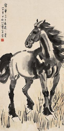 Xu Beihong (徐悲鴻, 徐悲鸿, 1895 - 1953)