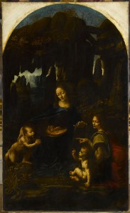 The Virgin of the Rocks, Musée du Louvre, Paris