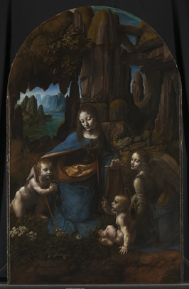 The Virgin of the Rocks, National Gallery, London