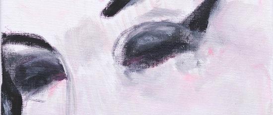 Marlene Dumas, Amy – Pink, 2011