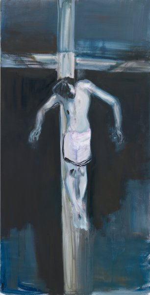 Marlene Dumas, Ecce Homo, 2011 olio su tela, 200x100 cm_courtesy the artist and Frith Street Gallery, Londra