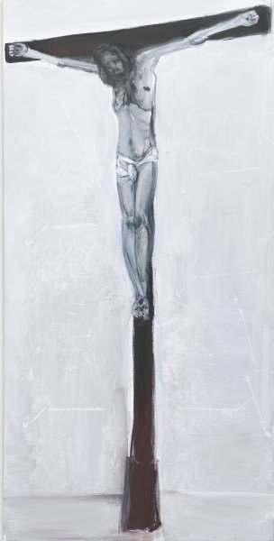 Marlene Dumas, Solo, 2011 olio su tela, 175x87 cm_courtesy the artist and Frith Street Gallery, Londra