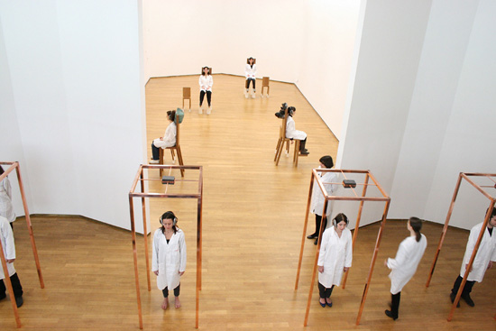 The Abramovic Method, PAC, Milano, 2012