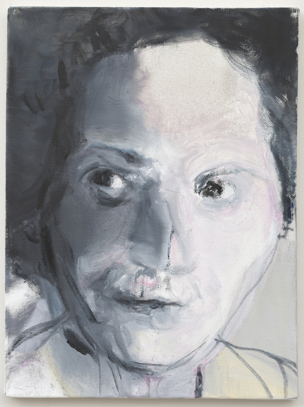 Marlene Dumas, Pasolini's Mother, 2012, olio su tela / oil on canvas, 40x30 cm, courtesy l'artista / the artist, ph. ©Peter Cox Milano, Stelline