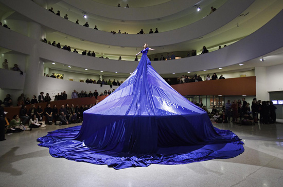 """Entering the Other Side"" in ""Seven Easy Pieces"", Guggenheim Museum New York, 2005"