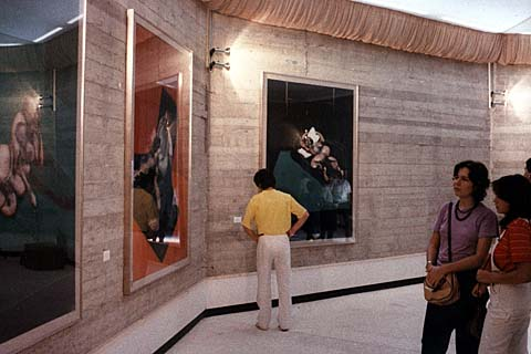 Meeting di Rimini, mostra di Francis Bacon, 1983
