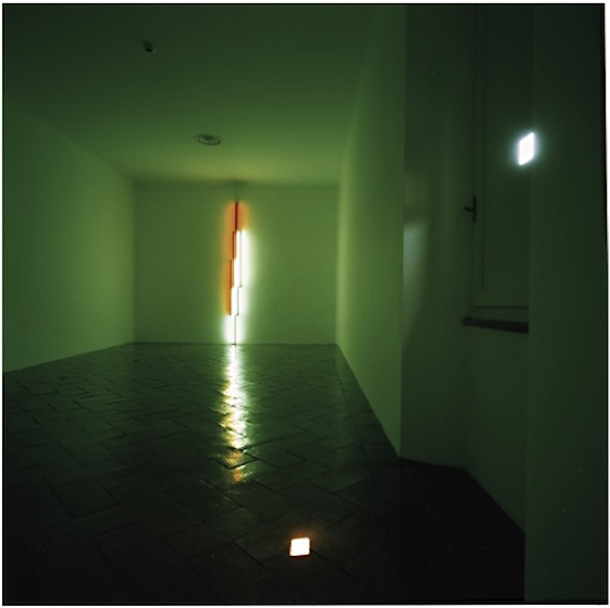 Giovanni Chiaramonte, D_Stanze, 2004. Dan Flavin, Villa Panza