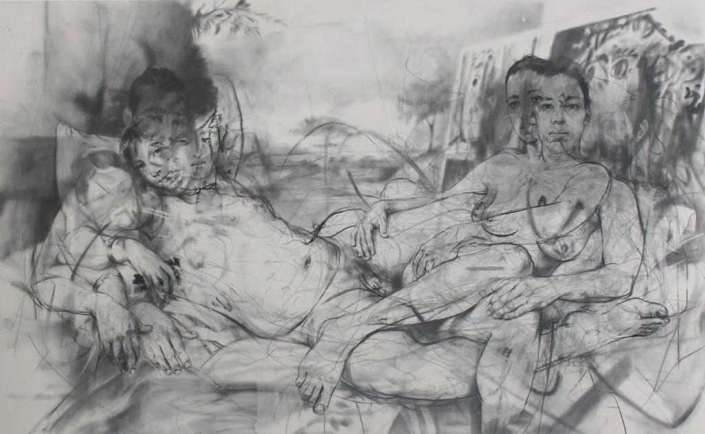 Jenny Saville, Mirror, 2012