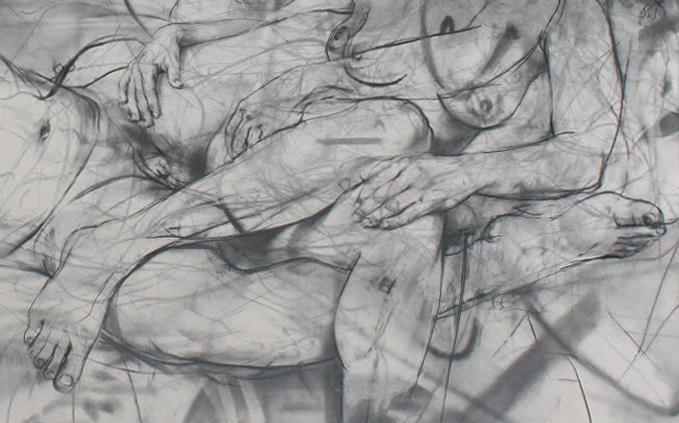 Jenny Saville, Mirror, 2012 (particolare)
