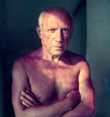 Gjon Mili, Pablo Picasso, Vallauris, France, 1949, Getty Images.
