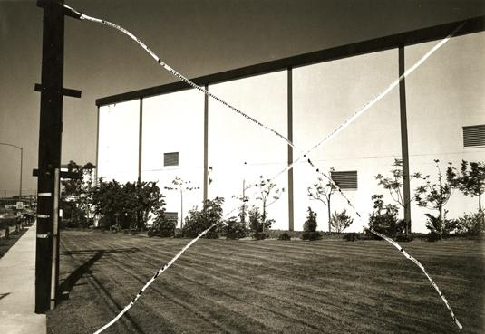 Thomas Barrow, Culver City, from the series Cancellations,1975