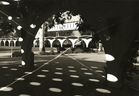 Thomas Barrow, UCR (ellipse), from the series Cancellations, 1976