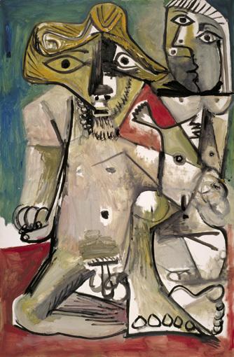 Pablo Picasso, Homme et femme nus, 18 agosto 1971