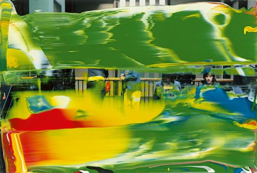 Gerhard Richter, Oil on colour photograph, 2011
