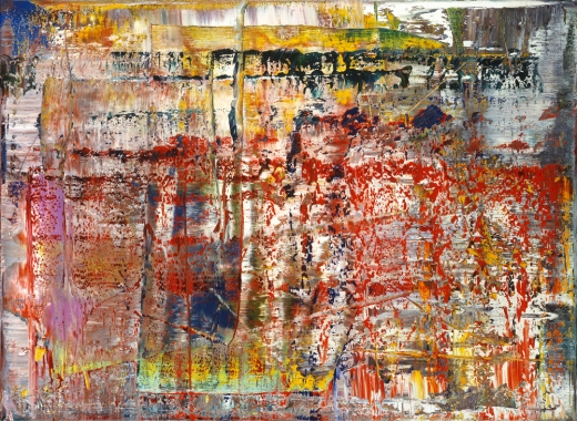 Gerhard Richter, Abstraktes Bild, Abstract Painting, 1990