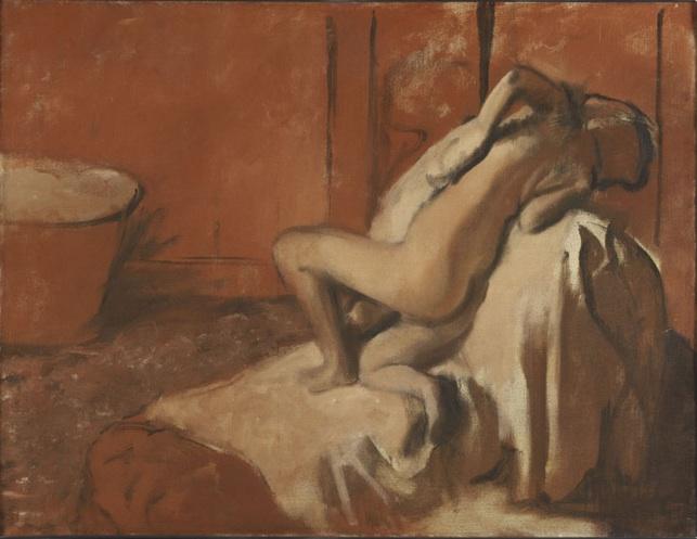 Edgar Degas, Après le bain, femme s'essuyant, c. 1896, Philadelphia Museum of Art