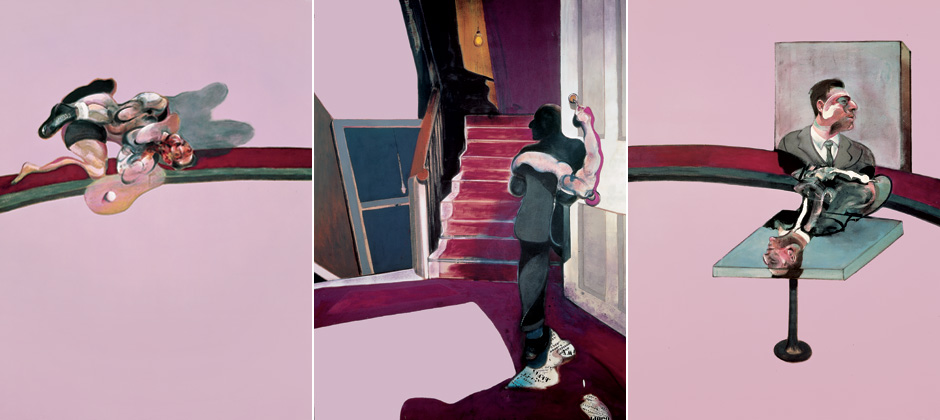 Francis Bacon, In memory of George Dyer, 1971, Beyeler Foundation