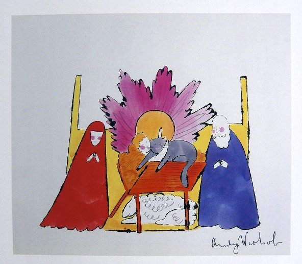 Andy Warhol, Nativity, 1982