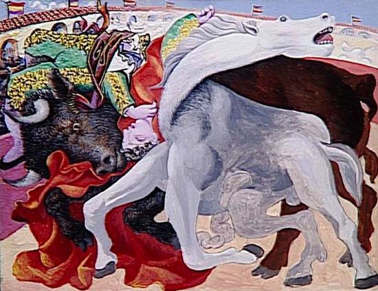 Pablo Picasso, Corrida: la morte del torero, Boisgeloup, 19 settembre 1933