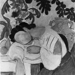 Series of photographs development of The Dream, Henri Matisse, 1940