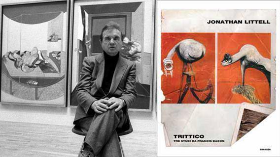 Jonathan Littell, Trittico - Tre Studi su Francis Bacon - Einaudi