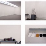 Studio di Gerhard Richter, Colonia, 19 dicembre 2013, foto di Georges Didi-Huberman.