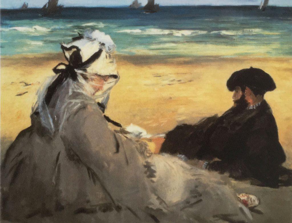 Edouard Manet Sur la plage